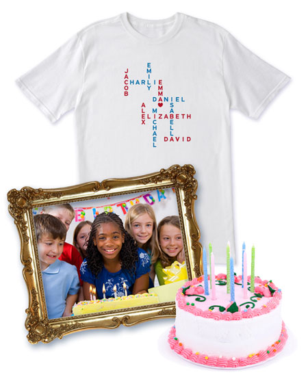 Family Matrix Shirts - Personalized Birthday Gifts